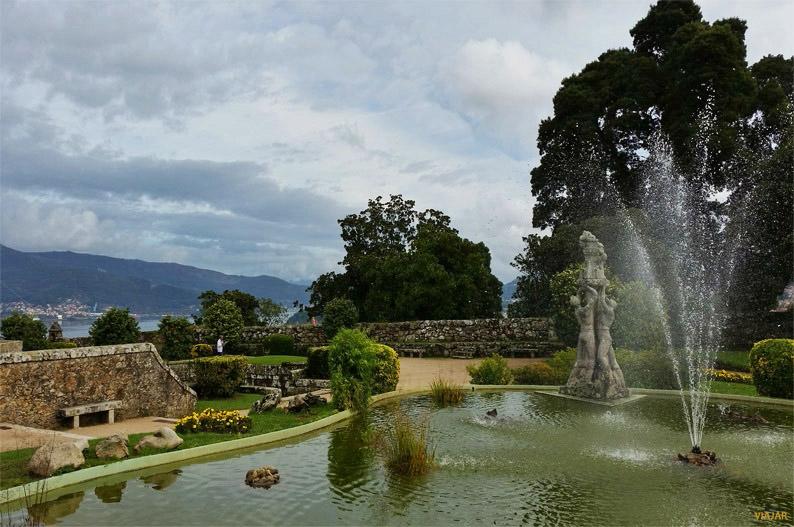 Jardines del castillo de O Castro. Vigo