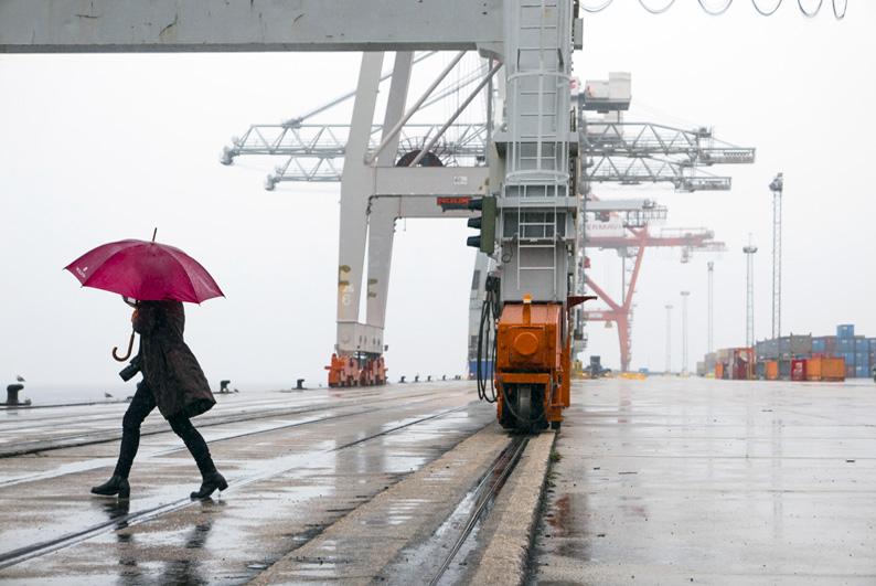 Paseo por el puerto de Vigo. Foto de Dani Keral