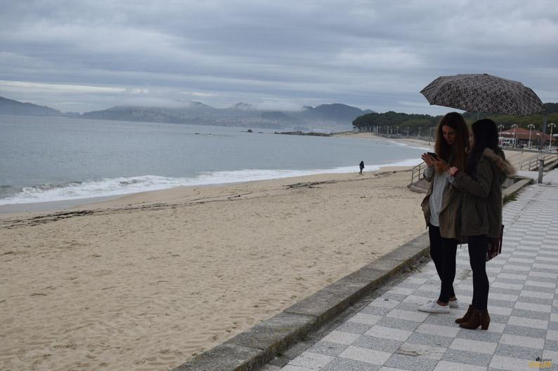 Playa de Samil. Vigo