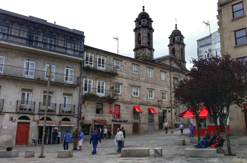 Praza da Pedra. Que ver en Vigo