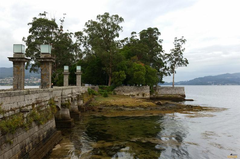 Puente de la isla de San Simón