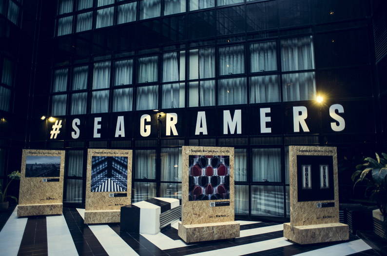 Exposición fotográfica Seagramer's. Seagram's New York Hotel at Only YOU