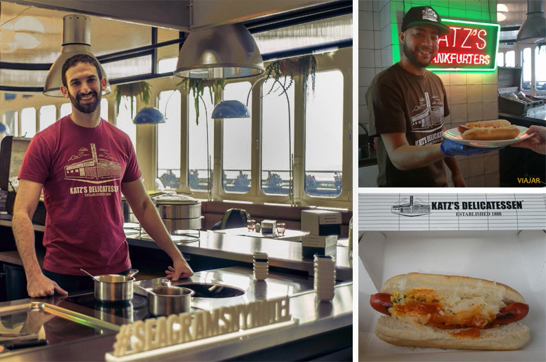 Katz's Delicatessen y su hot dog perfecto en el Seagram's New York Hotel at Only YOU