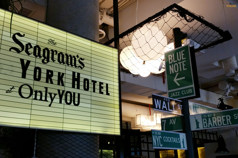 Nueva York en el Seagram's New York Hotel at Only YOU