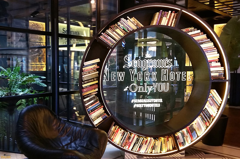 Seagram's New York Hotel at Only YOU Atocha