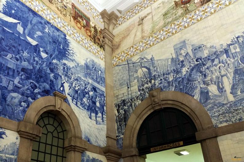 Estación de São Bento. Oporto