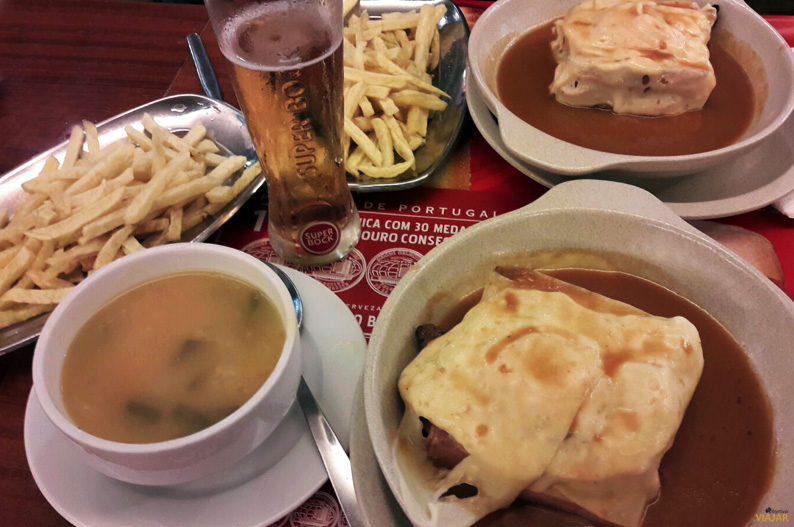Francesinha, el plato típico de Oporto