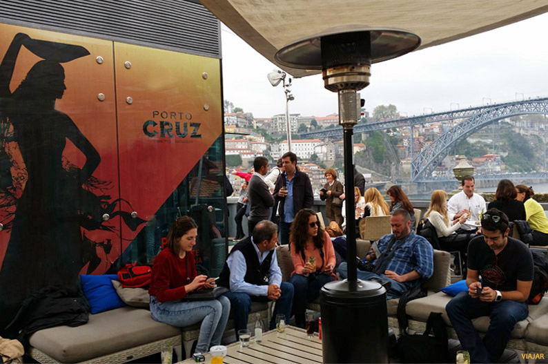 Terraza del Espacio Porto Cruz