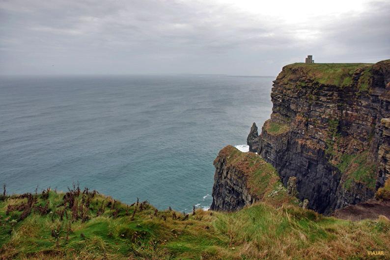 Los acantilados de Moher. Irlanda
