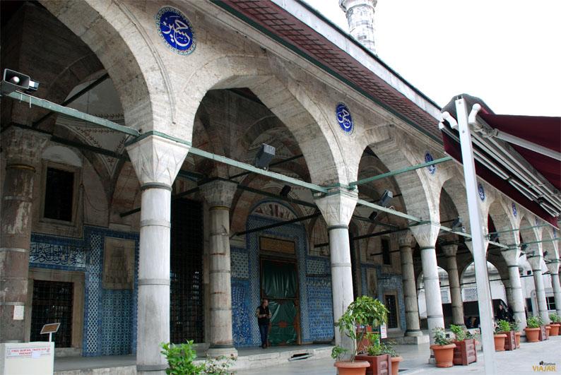 Mezquita de Rüstem Paşa. Estambul