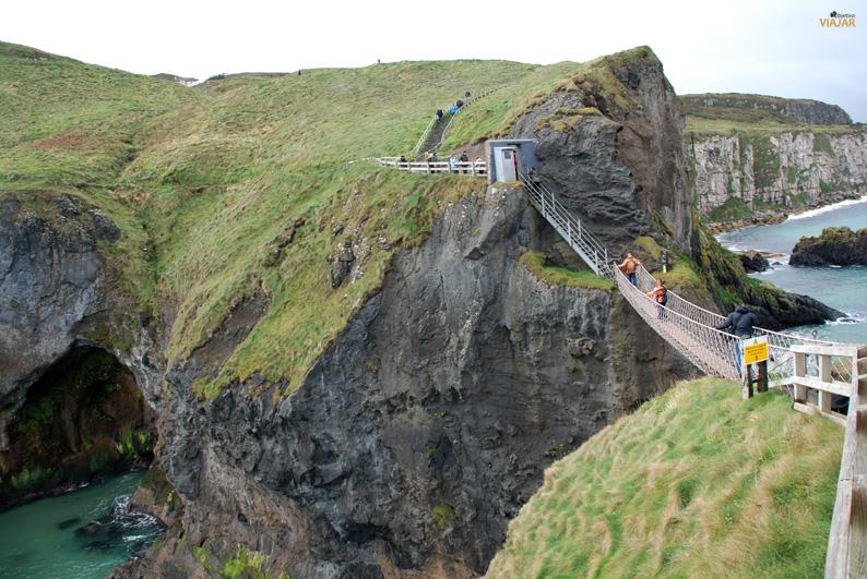 Puente de Carrick-a-Rede. Irlanda