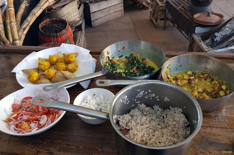 Recetas suajilis en el Essque Zalu Zanzibar