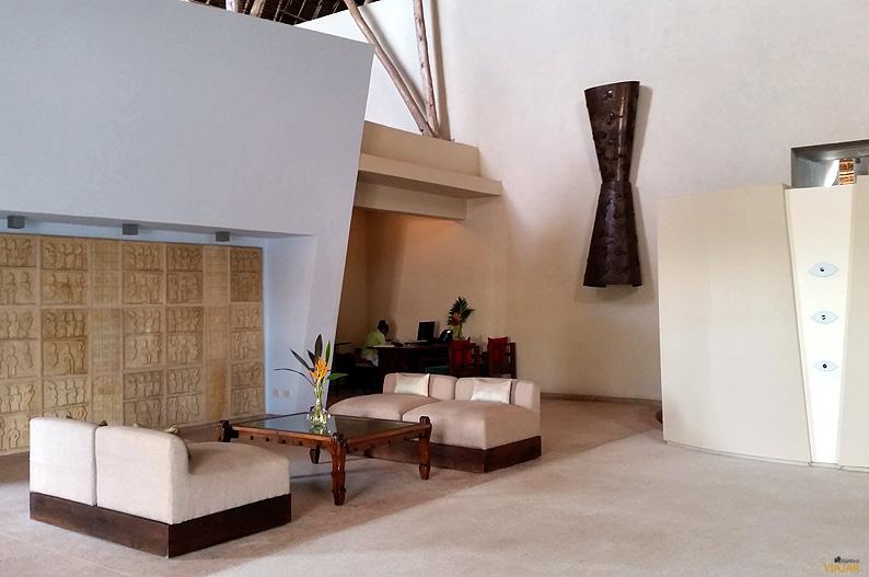 Hall del hotel Essque Zalu Zanzibar