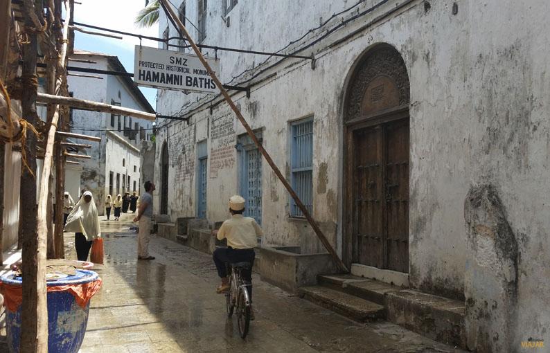 Baños persas Hamamni. Stone Town. Zanzibar