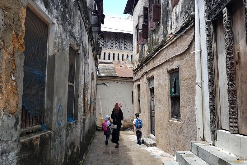 Callejeando por Stone Town. Zanzibar