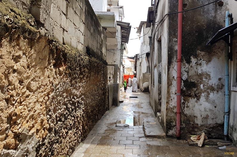 Calles de Stone Town. Zanzibar