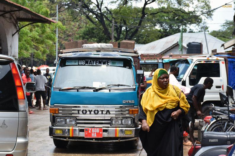 Dalla-dalla. Stone Town. Zanzibar