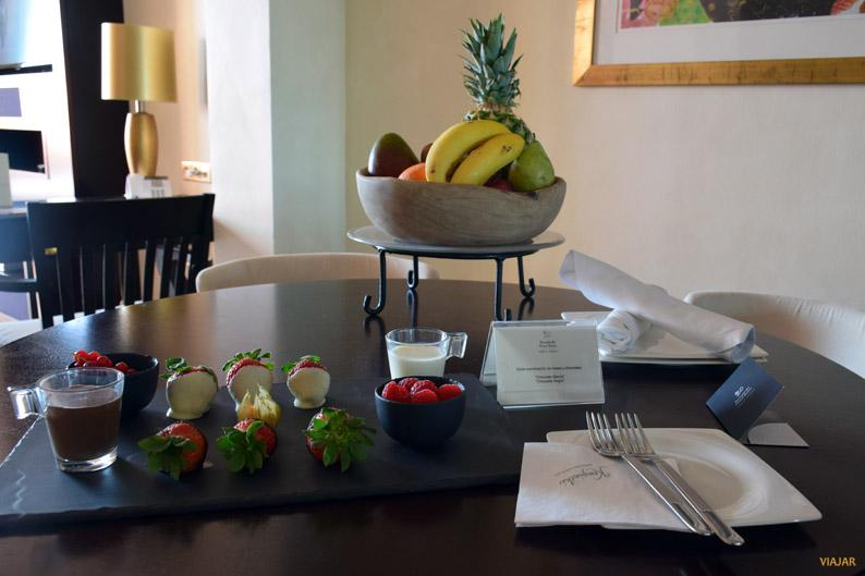 Detalles de bienvenida. Kempinski Hotel Bahia