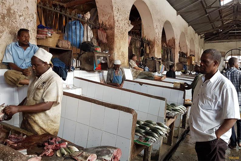 Mercado de Darajani. Que ver en Stone Town