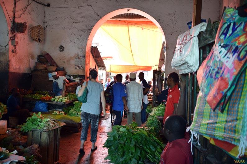 Mercado de Darajani. Stone Town. Zanzibar