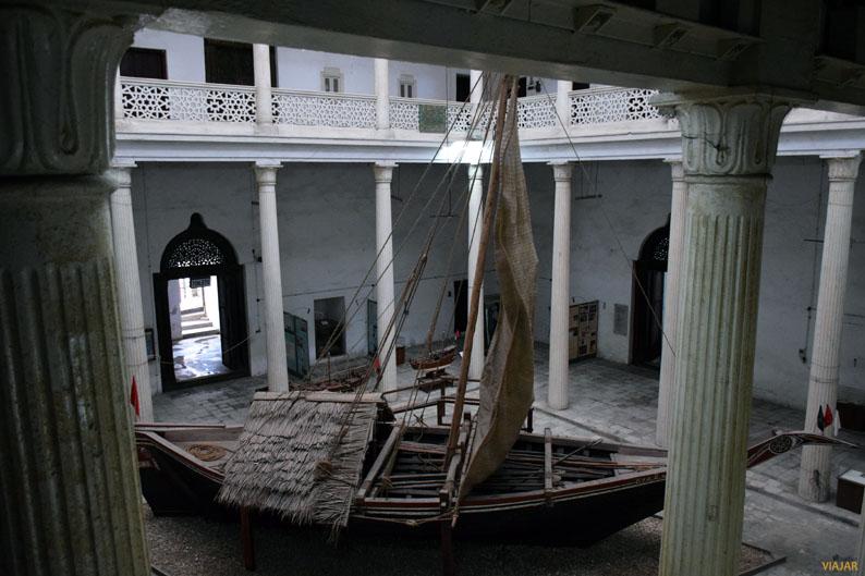 Mtepe. Museo Nacional de Historia. Stone Town Zanzibar