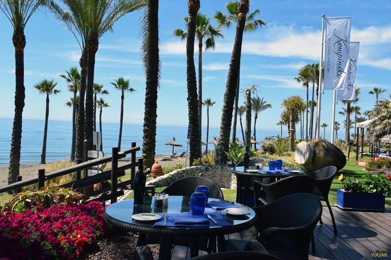 Restaurante La Cabaña del Mar. Kempinski Hotel Bahia
