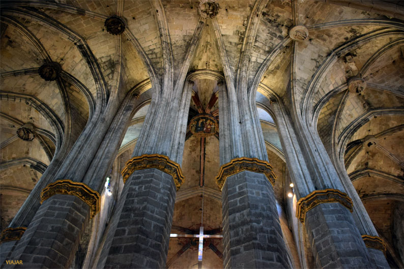Columnas de Santa Maria del Mar