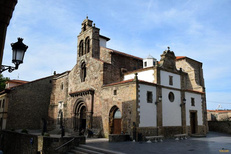 Iglesia de los Franciscanos. Aviles. Etapa Gijon/Xixon-Aviles