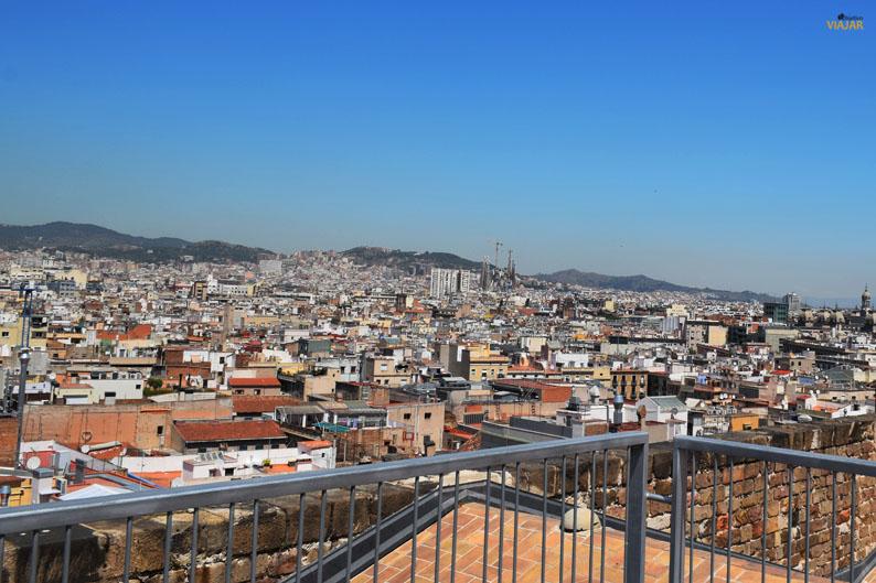 Barcelona desde las terrazas de Santa Maria del Mar