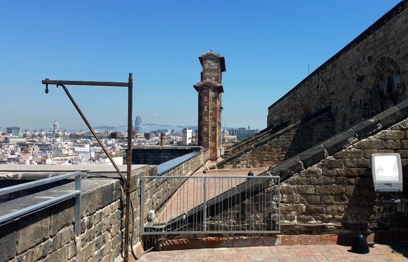 Visita guiada a las terrazas de Santa Maria del Mar. Barcelona