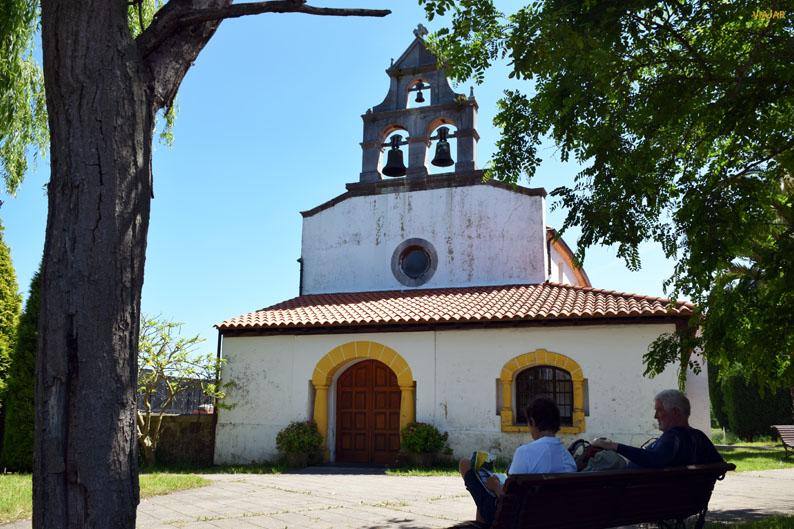 Iglesia de Santa Eulalia del Valle, Carreño. Etapa Gijon/Xixon-Aviles