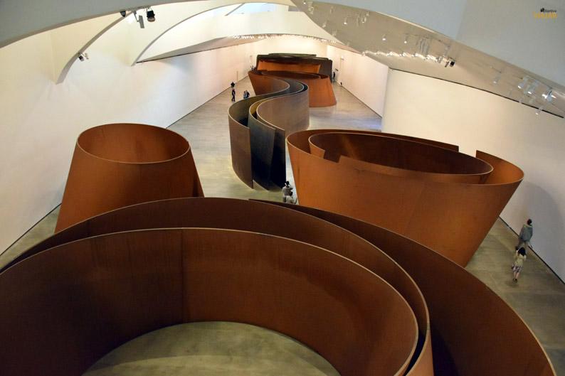 La materia del tiempo. Museo Guggenheim Bilbao