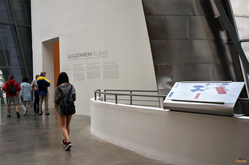 Sala del Museo Guggenheim Bilbao