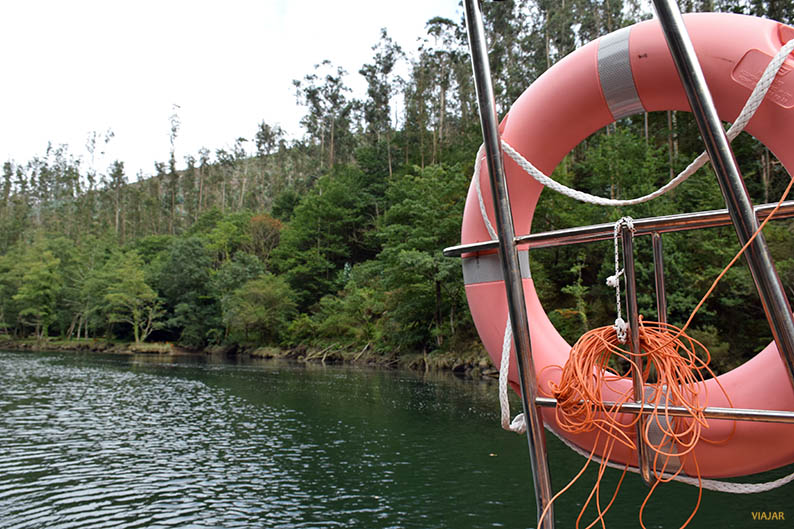 El rio Eume a su paso por Cabanas