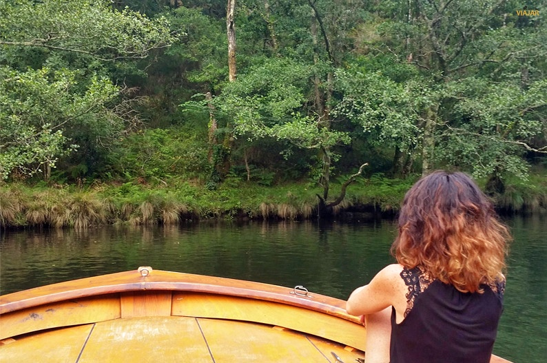 Ruta en barco por el Eume. Cabanas