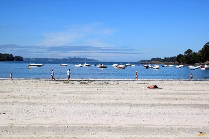Playa de A Magdalena, Cabanas