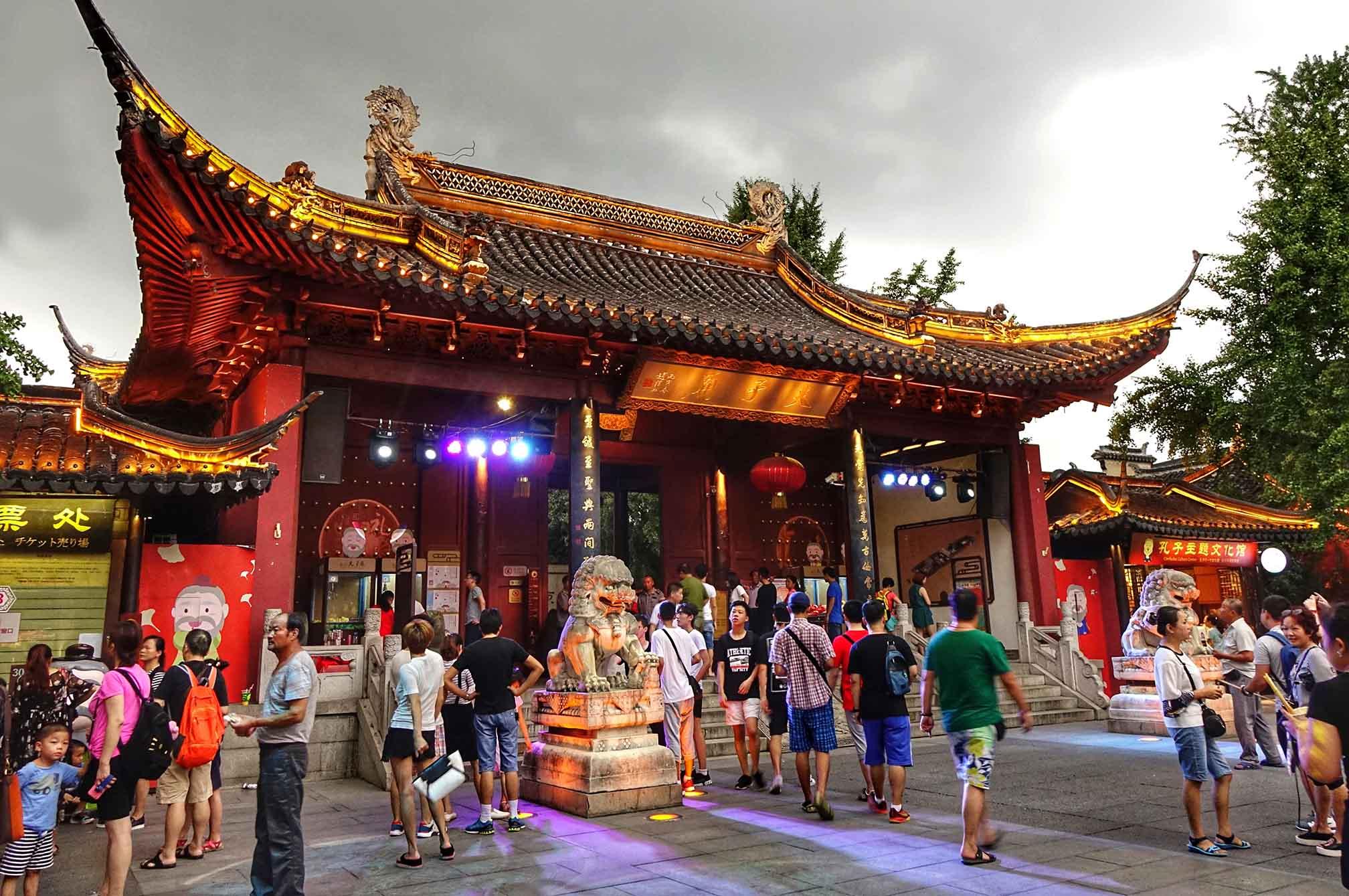 Templo de Confucio. Vuela a Nanjing con Finnair