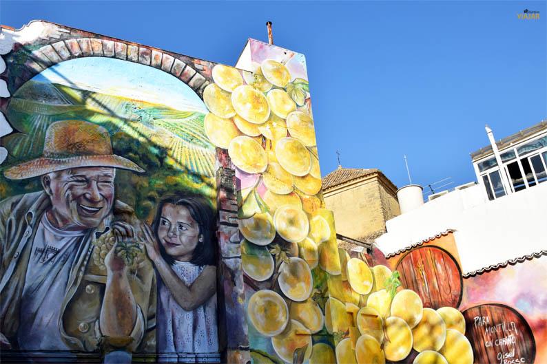 Arte urbano en las calles de Montilla