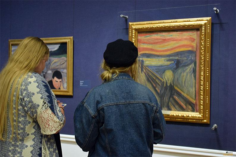 El Grito de Munch. Galeria Nacional. Oslo