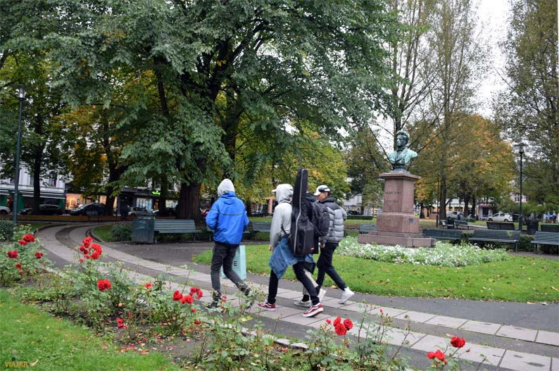 Plaza Olaf Ryes. Grünerløkka