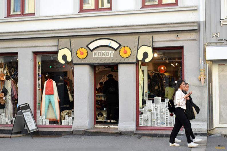Robot. Que hacer en Grünerløkka, Oslo