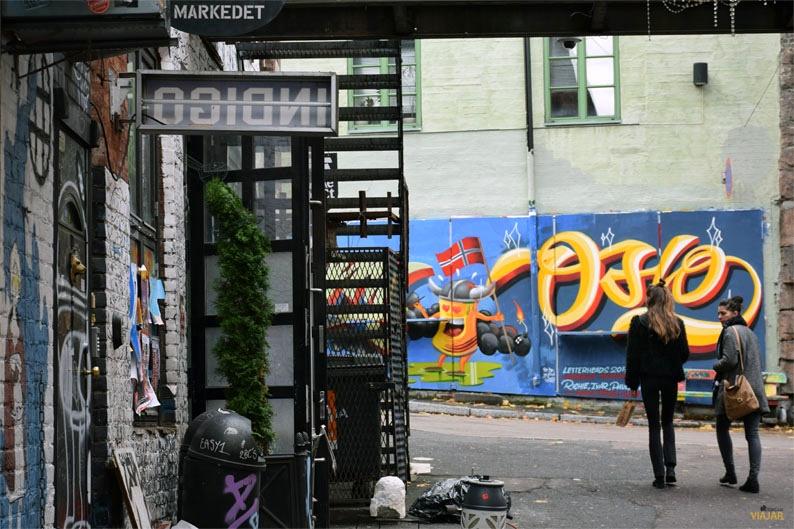 Street art en Vulkan, Oslo
