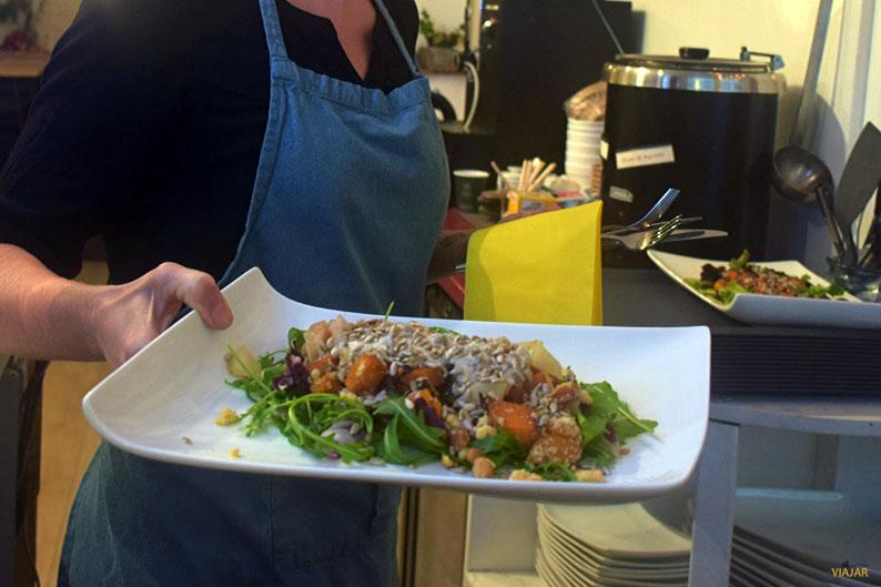 Mie Vie. Cocina vegana en Gante