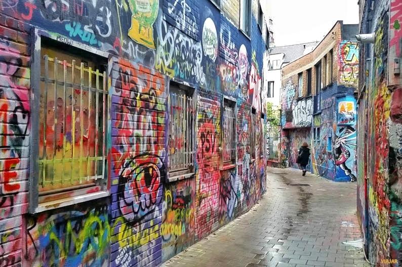 Werregarenstraat. Street art en Gante