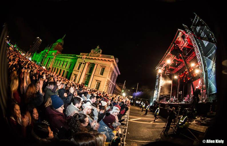 3Countdown Concert. Nochevieja en Dublin