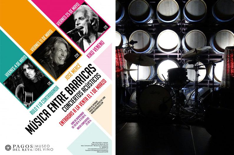 Musica entre Barricas. Museo del Vino de Pagos del Rey