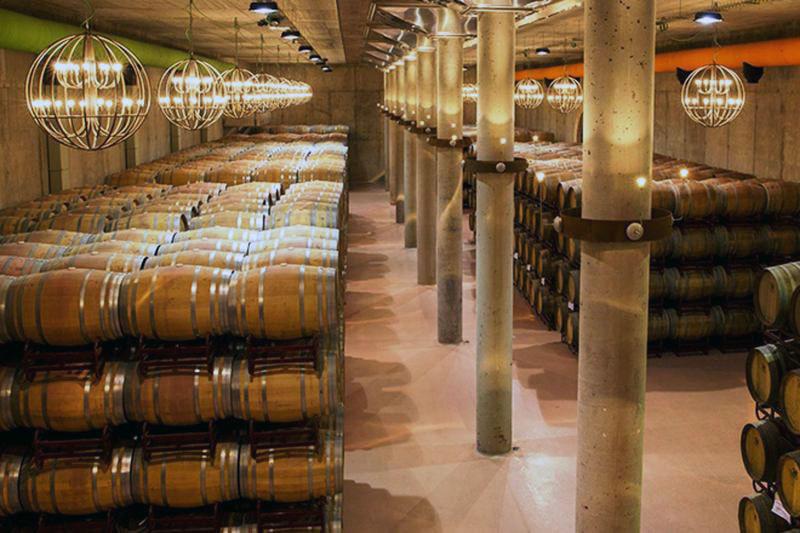 Sala de Barricas. Museo del Vino de Pagos del Rey