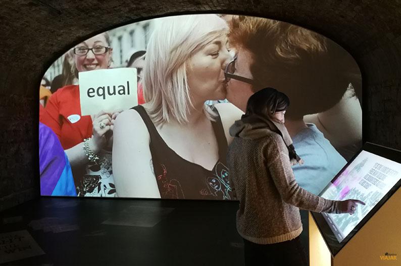 EPIC, el Museo de la Emigracion Irlandesa de Dublin