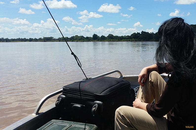 Navegando por el rio Zambeze