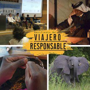 El Manifiesto del Viajero Responsable, juntos podemos mejorar el mundo